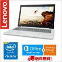(単品限定購入商品)【送料無料】レノボ・ジャパン Lenovo ideapad 320(ブリザードホワイト/Celeron N3350/4/500/SM/Win...