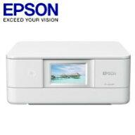 エプソンA4インクジェットプリンター/カラリオ/多機能モデル/6色染料/有線・無線LAN/Wi-FiDirect/両面/4.3型ワイドタッチパネル/ホワイトEP-880AW