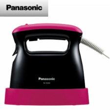 【送料無料】パナソニック 衣類スチーマー (ピンクブラック) NI-FS340-PK
