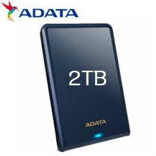 【送料無料】ADATA HV620S 2.5インチ USB3.1 ポータブルHDD 2TB ブルー AHV620S-2TU31-CBL