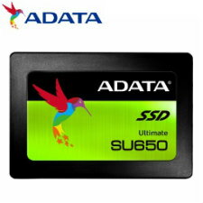 (単品限定購入商品)【送料無料】ADATA Ultimate SU650 2.5インチSSD 960GB SATA 7mm 3年保証 ASU650SS-960GT-C