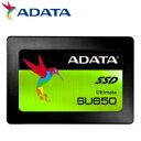 (単品限定購入商品)【送料無料】ADATA Ultimate SU650 2.5インチSSD 960GB SATA 7mm 3年保証 ASU650SS-960G...