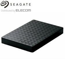 (単品限定購入商品)【送料無料】エレコム(Seagate)ポータブルハードディスク/USB3.1対応/1TB/Seagate New Expansion NZシリーズ/ブラック SGP-NZ010UBK