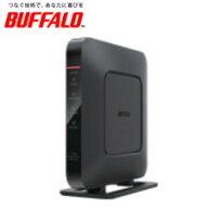 【送料無料】バッファロー無線LAN親機11ac/n/a/g/b866+300MbpsエアステーションQRsetupハイパワーGigaWi-FiリモコンブラックWSR-1166DHP3-BK