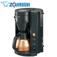 【送料無料】象印マホービン1〜4杯全自動コーヒーメーカーブラックEC-RS40BA