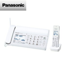 (単品限定購入商品)【送料無料】パナソニック おたっくす デジタルコードレス普通紙ファクス(子機1台付き)(ホワイト)KX-PD215DL-W