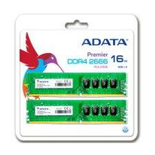 【送料無料】ADATA デスクトップPC用メモリ PC4-21300(DDR4-2666) 16GB(8GBx2枚組) AD4U266638G19-D
