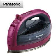 【送料無料】パナソニックコードレススチームアイロン(ピンク)NI-WL705-P