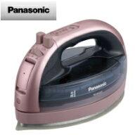 【送料無料】パナソニックコードレススチームアイロン(ピンク)NI-WL605-P