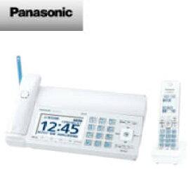 【送料無料】 パナソニック デジタルコードレス普通紙ファクス(子機1台付き)(ホワイト) KX-PD725DL-W