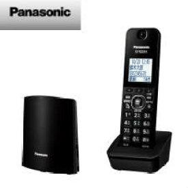 【送料無料】パナソニック コードレス電話機(子機1台付き)(ブラック) VE-GDL45DL-K