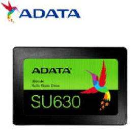 (単品限定購入商品)【送料無料】ADATA  Ultimate SU630 2.5インチ SSD 480GB (3D QLC/SLCキャッシュ機能/3年保証/MTBF:150万時間/Read:520MBs/Write:450MBs) NTT-X Store限定モデル ASU630SS-480GQ-T