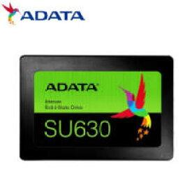 (単品限定購入商品)【送料無料】 ADATA Ultimate SU630 2.5インチ SSD 960GB (3D QLC/SLCキャッシュ機能/3年保証/MTBF:150万時間/Read:520MBs/Write:450MBs) NTT-X Store限定モデル ASU630SS-960GQ-T