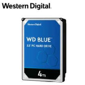 【送料無料】WESTERN DIGITAL WD Blueシリーズ 3.5インチ内蔵HDD 4TB SATA3(6Gb/s) 5400rpm 64MB WD40EZRZ-RT2 4988755-034838