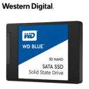 【送料無料】WESTERN DIGITAL WD Blue 3D NANDシリーズ SSD 1TB SATA 6Gb/s 2.5インチ 7mm cased 国内正規代理店品 WD…