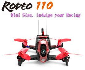 【ラジコン ヘリコプター】WALKERA ワルケラ /Rodeo 110(ロデオ) ミニクアッドコプター (DEVO用)機体のみ(カメラ、バッテリー、USB充電器、日本語マニュアル付)【送料無料】