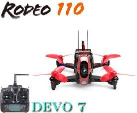 【ラジコンヘリ】WALKERA ワルケラ /Rodeo 110(ロデオ) ミニクアッドコプター + DEVO7送信機(カメラ、バッテリー、USB充電器、日本語マニュアル付)