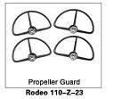 【ラジコン ヘリコプター】WALKERA ワルケラ /ロデオ Rodeo 110用 プロペラガード×1 (Rodeo 110-Z-23)【送料無料】
