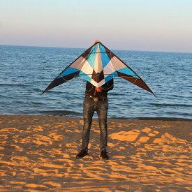 カイト 凧 凧揚げ / スタント アクロ スポーツ カイト180cm ●ブルー 送料無料