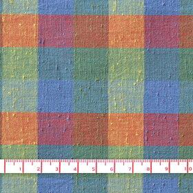 遠州綿紬珊瑚-さんご-108cm巾