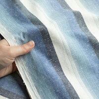 50cm単位水通し不要【広巾】遠州綿紬富士(ふじ)120cm巾