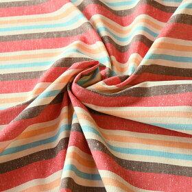 50cm単位水通し不要【広巾】遠州綿紬ソレイユ120cm巾
