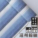 日本の縞 富士 木綿反物【送料無料】
