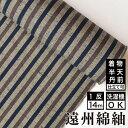 遠州綿紬 S-31 -木立(こだち)- 木綿反物