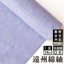 【送料無料】ネップ&スラブ 薄紫綿 着物 洗える着物 大人可愛い おしゃれな きれいめ