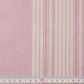 母の日/縞紬S-46-花桜(はなざくら)-木綿反物/遠州綿紬/木綿着物/ふだん着物/雑貨小物/着尺反物/小幅/リメイク/桜/sakura/japan/和風