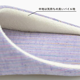 遠州綿紬つむぐスリッパ
