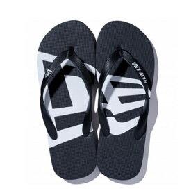ニューエラ 2019Beach Sandals ビーチサンダル フラッグ ブラック × ホワイト 11901532【NEWERAシューズ メンズ 】