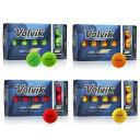 Volvik 2019 VIVID XT AMT ボール 1ダース(12個入り) [Golf ボルヴィック ヴィヴィッド XT グリーン イエロー オレンジ レッド ドラコン ゴルフ]