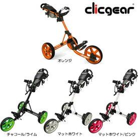 クリックギア プッシュカート 3.5+  ゴルフカート 手押しカート セルフ 日本仕様 [Clicgear Push cart 3.5 手引きカート]