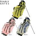 パーリーゲイツ PEARLY GATES NEW ニコちゃん キャディバッグ 053-980004 スタンドバッグ [パーリーゲイツ Golf ゴルフ ]