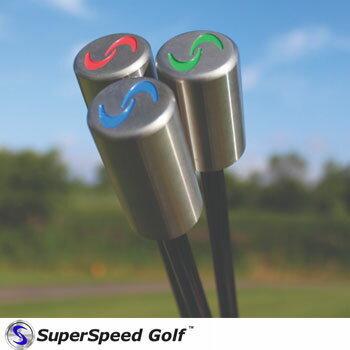 SuperSpeed Golf スーパースピードゴルフ 男性用】3本セット [練習器 練習器具  飛距離アップ フィルミケルソン]