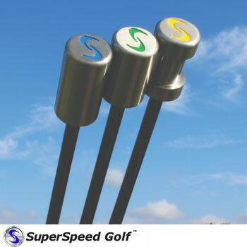 SuperSpeed Golf スーパースピードゴルフ 【シニア用】3本セット [練習器 練習器具  飛距離アップ フィルミケルソン]
