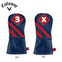 キャロウェイ 2016 Callaway Vintage Fairway Wood HeadcoverBlue/Red フェアウェイウッド用 [キャロウェイ  ヘッド…