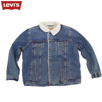 リーバイスシェルパトラッカージャケット ボア デニムジャケット メンズ 16365-0041[ Levi's ウェア ]【あす楽対応】
