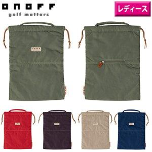 オノフ 2020 ONOFF レディース シューズケースOC0720 日本仕様 【靴袋 シューバッグ 女性用 ゴルフ バッグ】