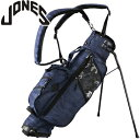 ジョーンズ 2018 JONES X GREYSON NAVY CAMO UTILITY STAND BAG US仕様 [Jones Golf Bags ユーテ...