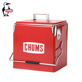 CHUMSスチールクーラーボックス CH62-1128 [チャムス Steel Cooler Box アウトドア ゴルフ]