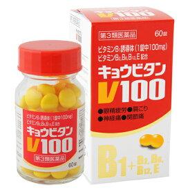 【第3類医薬品】新新薬品工業 キョウビタンV100 筋肉痛 関節痛 腰痛 肩こり 眼精疲労 神経痛