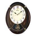 セイコークロック SEIKO からくり時計 掛け時計 電波時計 壁掛け・メロディ セイコー掛け時計 セイコーからくり時計 セイコー電波時計 AM248B ウエー...