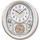 セイコークロック SEIKO からくり時計 掛け時計 電波時計 壁掛け・メロディ セイコー掛け時計 セイコーからくり時計 セイコー電波時計 AM251P ウエー...