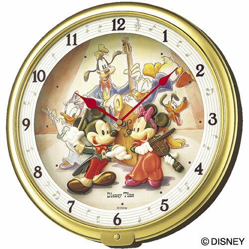 セイコークロック SEIKO ディズニー 掛け時計 壁掛け FW521G セイコー掛け時計 壁掛け ディズニー ミニー ミッキー&フレンズ メロディ 結婚祝い&内祝い おしゃれ かわいい【Disneyzone】【あす楽対応】【送料無料】