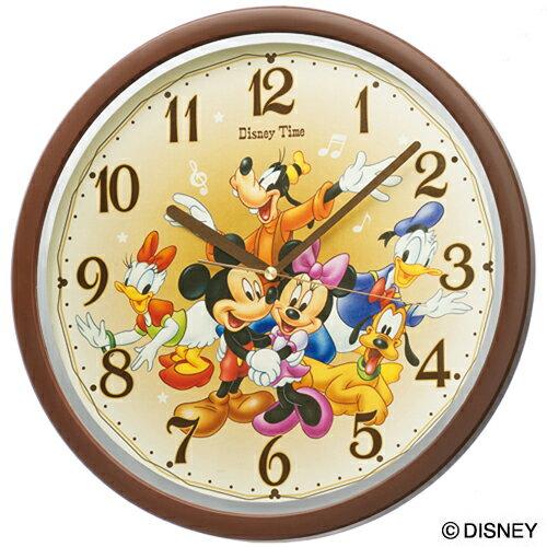 セイコークロック SEIKO ディズニー 掛け時計 壁掛け FW569B セイコー掛け時計 壁掛け ディズニー ミッキー ミニー ミッキー&フレンズ スイープ 結婚祝い&内祝い おしゃれ かわいい【Disneyzone】【あす楽対応】