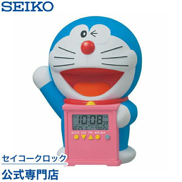 SEIKOギフト包装無料 セイコークロック SEIKO キャラクター 目覚まし時計 置き時計 JF374A セイコー目覚まし時計 セイコー置き時計 ドラえもん デジタル 音声 おしゃべり 温度表示 おしゃれ かわいい あす楽対応【ギフト】