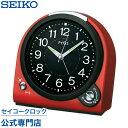 セイコークロック SEIKO ピクシス 目覚まし時計 置き時計 NQ705R セイコー目覚まし時計 セイコー置き時計 スイープ 音量調節 おしゃれ【あす楽対応】