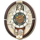 セイコークロック SEIKO 掛け時計 壁掛け からくり時計 電波時計 RE571B セイコー掛け時計 壁掛け セイコーからくり時計 セイコー電波時計 メロディ...